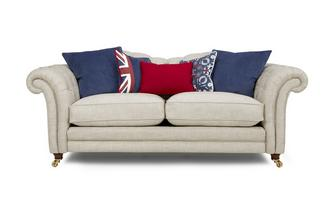 3 Seater Sofa with Piping Britannia