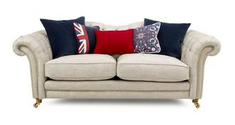 Britannia 3 Seater Sofa with Studs