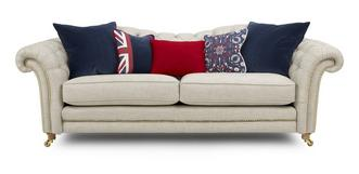 Britannia 4 Seater Sofa with Studs