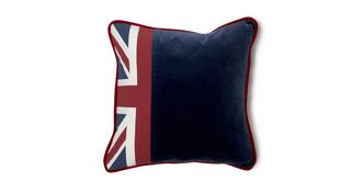 Britannia Union Jack and Plain Scatter Cushion