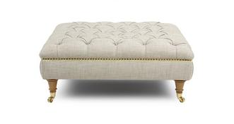 Britannia Large Footstool with Studs