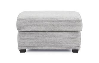 Fabric B Storage Footstool