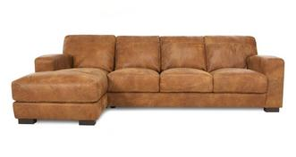 Caesar Left Hand Facing Large Chaise End Sofa