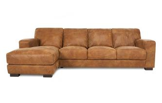 Left Hand Facing Large Chaise End Sofa Outback