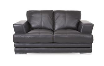 2 Seater Leather and Leather Look Sofa Le Mans