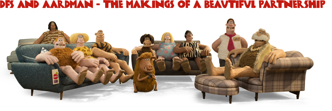 DFS and Aardman - The makings of a beautiful partnership
