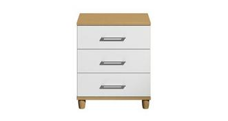 Carbis 3 Drawer Wide Chest