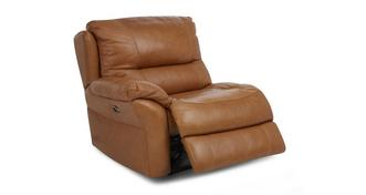 Carmello Left Hand Facing Arm 1 Seater Electric Recliner Unit