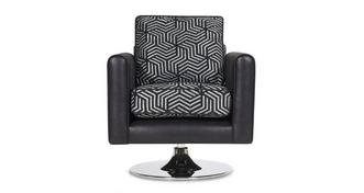 Cassius Pattern Swivel Chair