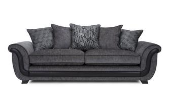 4 Seater Pillow Back Sofa Cassius