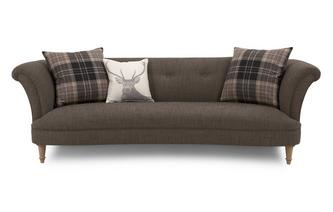 4 Seater Sofa (Alternative Fabric) Catherine Alternative