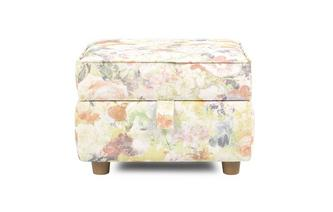Floral Storage Footstool Catherine