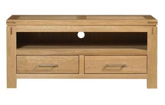 Small Media Unit American Oak