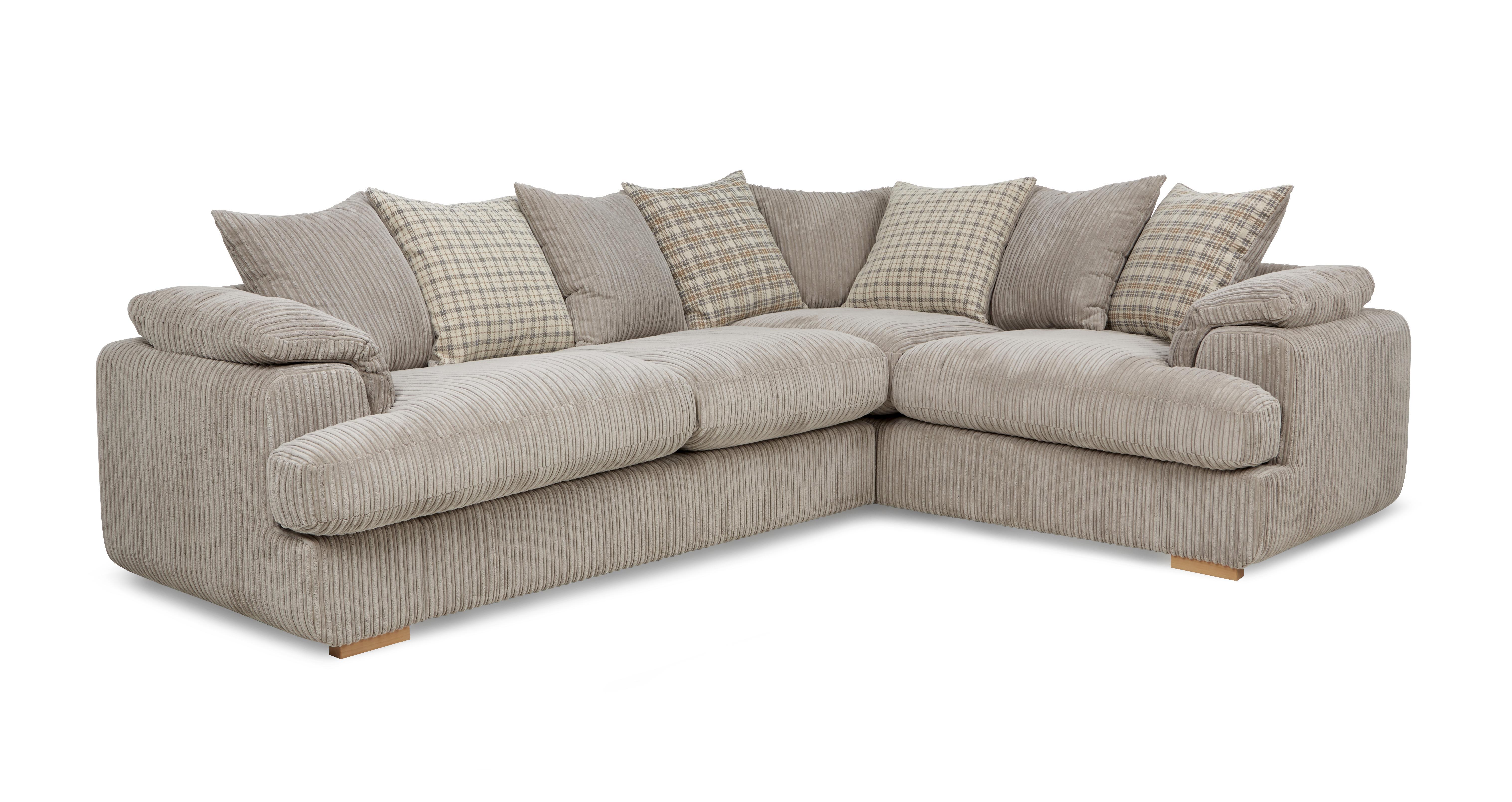 celine left arm facing 2 seater pillow back corner sofa celine alternative dfs. Black Bedroom Furniture Sets. Home Design Ideas