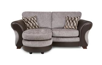 2 Seater Formal Back Lounger Chance