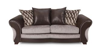 Chance 3 Seater Pillow Back Sofa