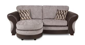 Chance 3 Seater Formal Back Lounger