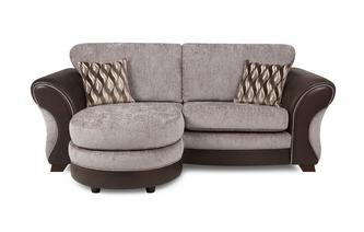 3 Seater Formal Back Lounger Chance