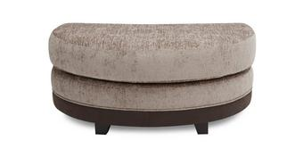 Chance Half Moon Footstool