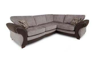 Left Hand Facing 3 Seater Formal Back Corner Sofa Chance