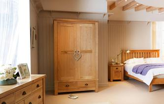 Chateaux Bedroom 2 Door Wardrobe Chateaux