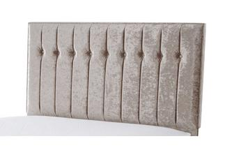 Double (4 ft 6) Headboard Crush Fabric
