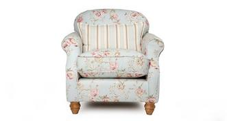 Chiltern Floral Accent Chair