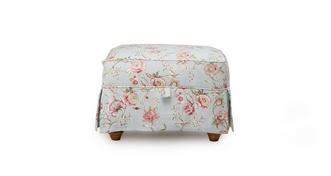 Chiltern Floral Storage Footstool
