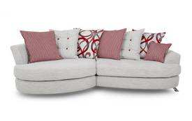 Fabric chaise longue swivel and snuggle chairs dfs for Chaise longue dfs