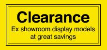 Clearance products at DFS