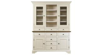 Clermont Large Sideboard & Large Glazed Hutch