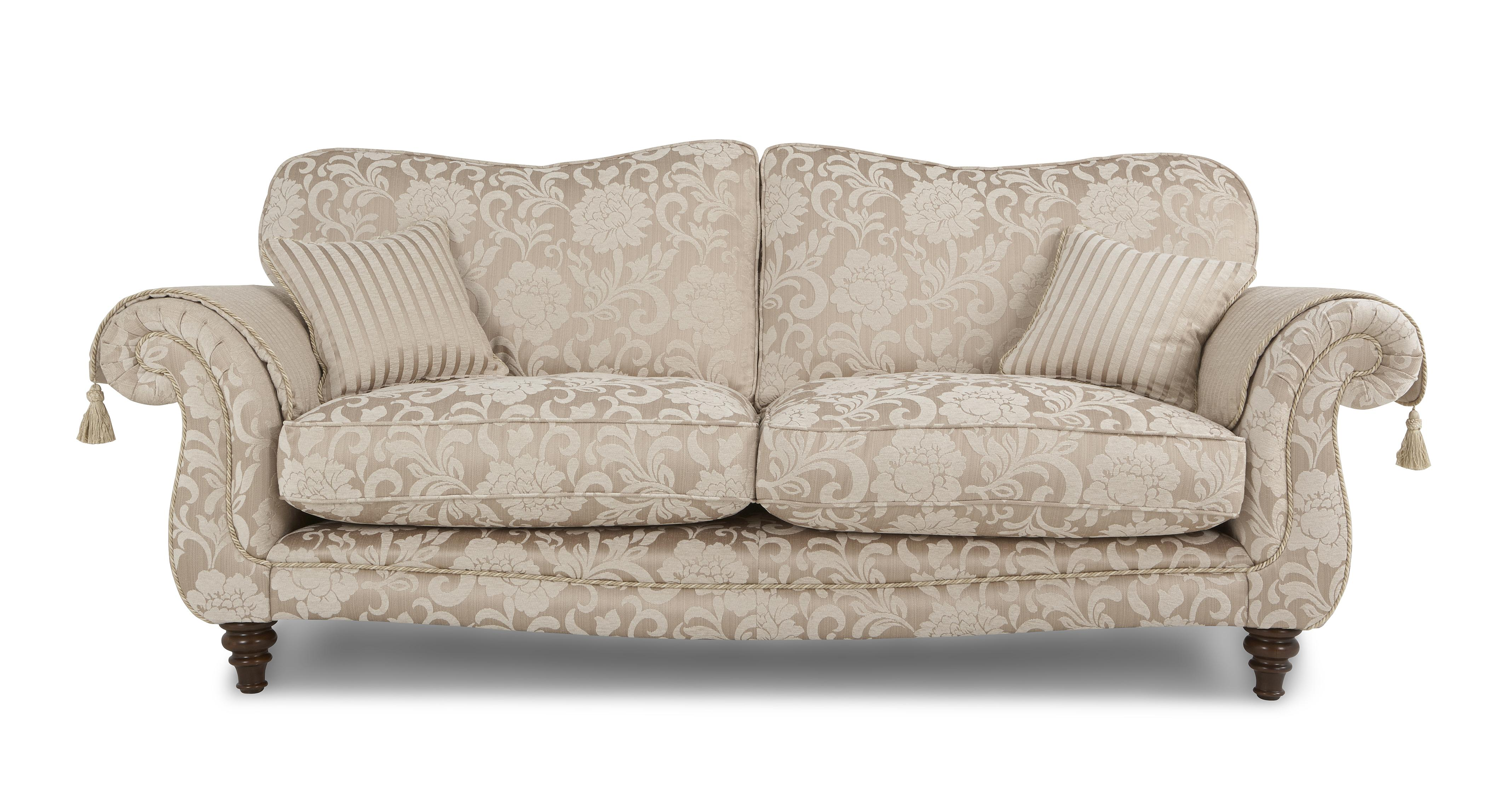 Dfs 2 Seater Leather Sofa DFS BROWN LEATHER 5 SEATER