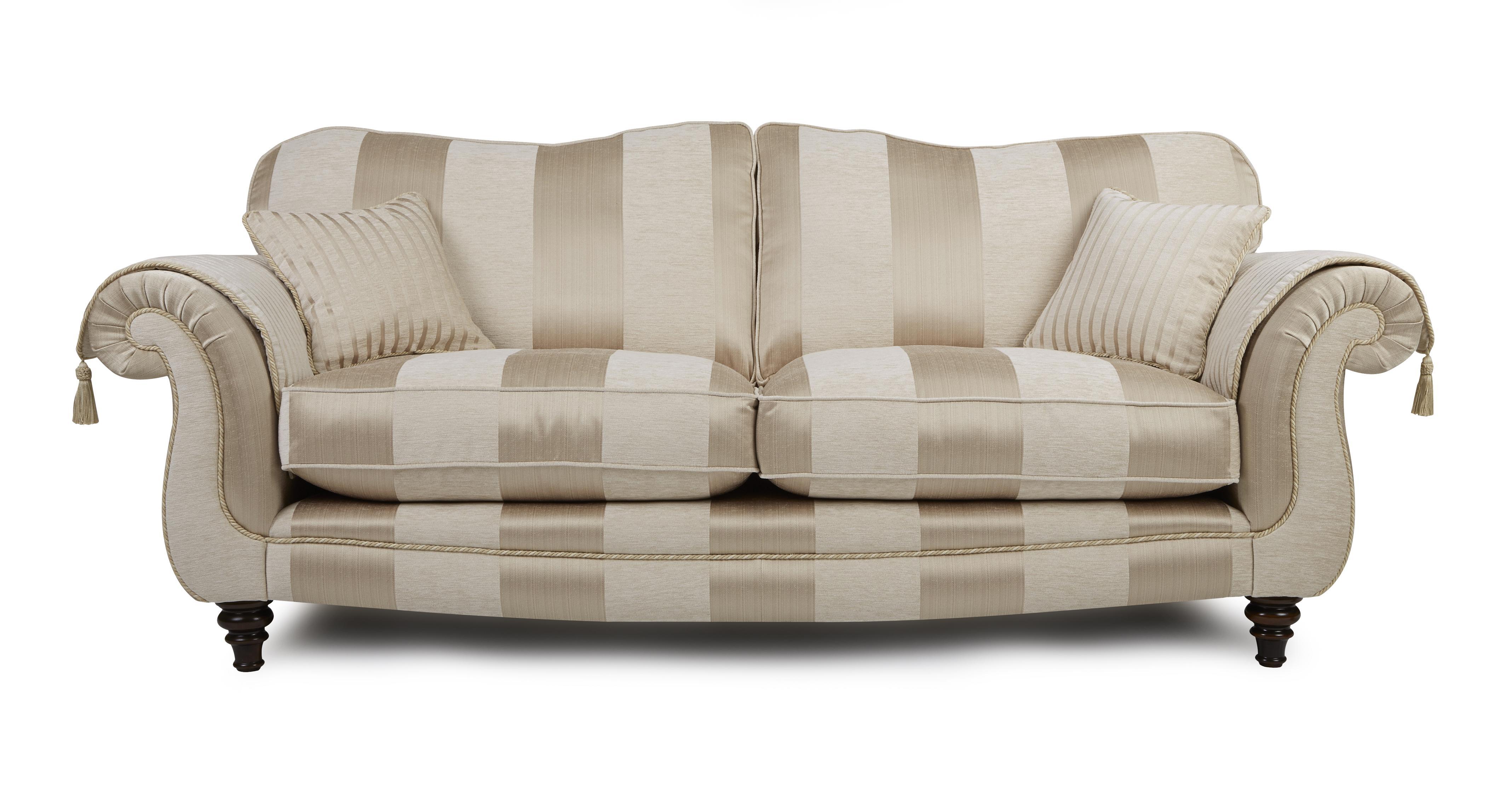 Colman 4 Seater Sofa Colman Wide Stripe Dfs
