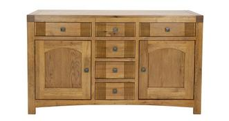 Colorado Large Sideboard with 2 Doors and 6 Drawers