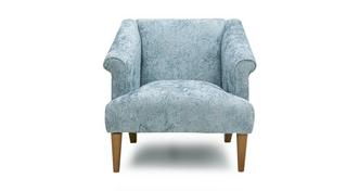 Comfort Paisley Accent Chair