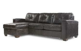 Left Hand Facing Storage Chaise Sofa