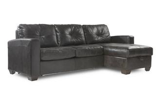 Right Hand Facing Storage Chaise Deluxe Sofa Bed