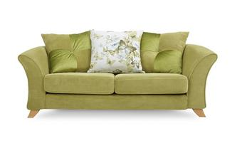 2 Seater Pillow Back Sofa Corinne