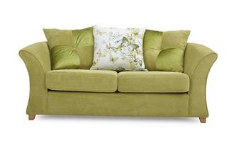 2 Seater Pillow Back Sofa Bed Corinne