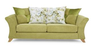 Corinne 3 Seater Pillow Back Sofa