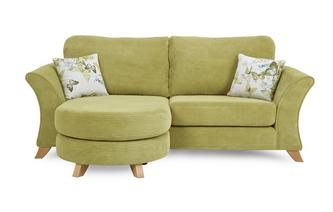 3 Seater Formal Back Lounger Sofa Corinne