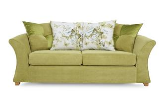 3 Seater Pillow Back Sofa Bed Corinne