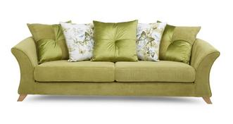 Corinne 4 Seater Pillow Back Sofa
