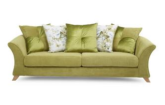 4 Seater Pillow Back Sofa Corinne