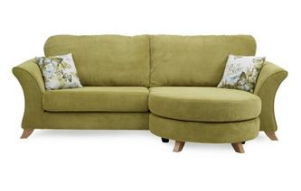 4 Seater Formal Back Lounger Sofa Corinne