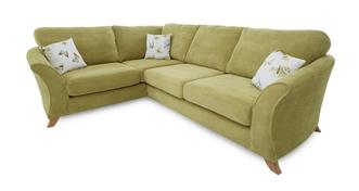 Corinne Right Hand Facing 3 Seater Formal Back Corner Sofa