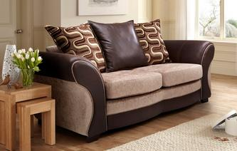Croft Large 2 Seater Pillow Back Deluxe Sofa Bed Croft