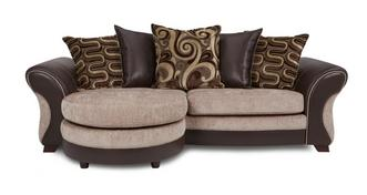 Croft 4 Seater Pillow Back Lounger