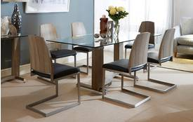 Dali Fixed Table & Set of 4 Chairs Dali