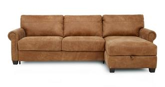 Davenport Right Hand Facing Storage Chaise Sofa Bed